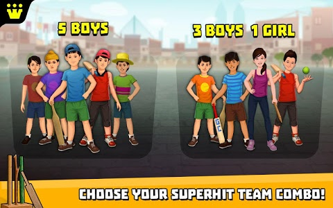 screenshot of Gully Cricket Game - 2018 version 1.8