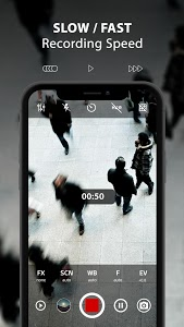 screenshot of ProCam X ( HD Camera Pro ) version 1.9
