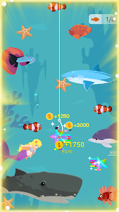 screenshot of Happy Fishing - Catch Fish and Treasures version 1.0