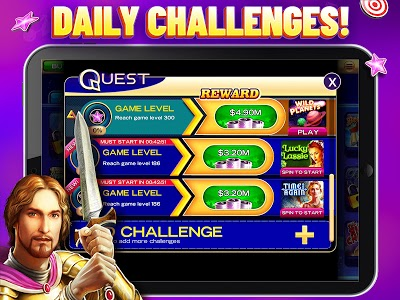 screenshot of High 5 Casino: The Home of Fun & Free Vegas Slots version 4.10.1