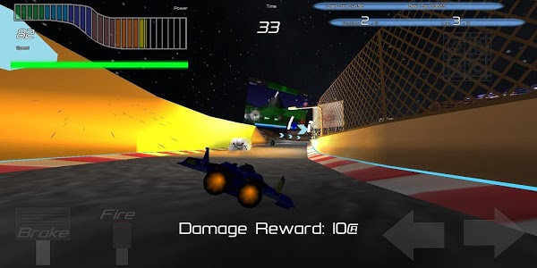 screenshot of Hyperracer version Varies with device