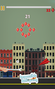 screenshot of Impossible Ball Spring version 0.6