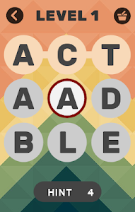 screenshot of Impossible Words version 1.8.9z