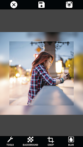 screenshot of Instasquare Photo Editor: Double Exposure & Resize version Varies with device