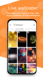 screenshot of 4K Wallpapers - Full HD Wallpapers & Backgrounds version 5.2