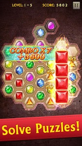 screenshot of Jewels Legend version 3.27.48