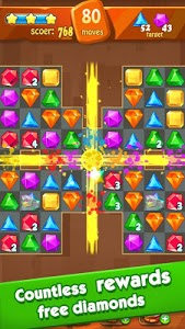 screenshot of Jewels Classic - Jewel Crush Legend version 2.9.2
