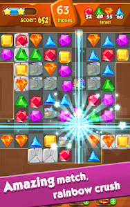 screenshot of Jewels Classic - Jewel Crush Legend version 2.7.4