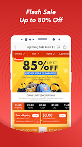 screenshot of Jollychic - Online Shopping mall version Varies with device