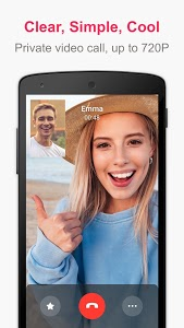screenshot of JusTalk - Free Video Calls and Fun Video Chat version 7.2.63