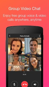 screenshot of JusTalk - Free Video Calls and Fun Video Chat version 7.2.37