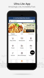 screenshot of Justdial Lite - The Best Local Search App version 3.9