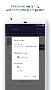 screenshot of Kijiji: Buy, Sell and Save on Local Deals version Varies with device