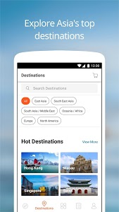 screenshot of Klook: Travel Activities, Day Trips & Guided Tours version 5.17.0