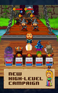 screenshot of Knights of Pen & Paper 2 version 2.6.23