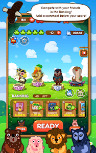 screenshot of LINE Pokopang version 6.9.1