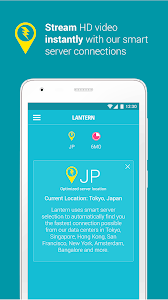 screenshot of Lantern: Open Internet for All version 5.8.5 (20200316.221709)