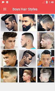 screenshot of Latest Boys Hairstyle 2019 version 1.0.6