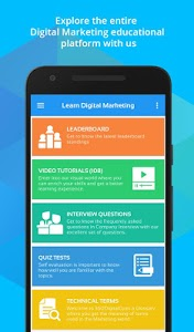 screenshot of Learn SEO, SMO, PPC and Digital Marketing course version 3.9