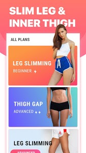 screenshot of Leg Workouts for Women - Slim Leg & Burn Thigh Fat version 1.0.4