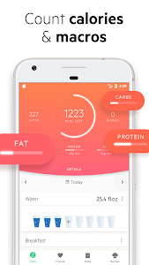 screenshot of Lifesum - Diet Plan, Calorie Counter & Food Diary version Varies with device