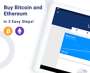 screenshot of Luno: Buy Bitcoin, Ethereum & Cryptocurrency Now version 5.6.1
