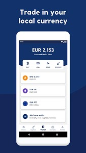 screenshot of Luno: Buy Bitcoin, Ethereum and Cryptocurrency version 6.4.0