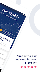 screenshot of Luno: Buy Bitcoin, Ethereum and Cryptocurrency version 6.0.6