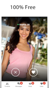 screenshot of MOOQ - Free Dating App & Flirt and Chat version 1.9.1