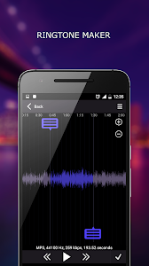 screenshot of MP3 Player version 1.4.5