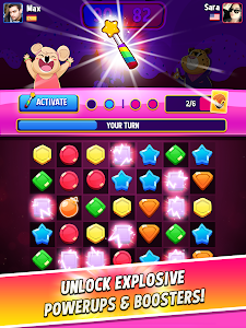 screenshot of Match Masters - PVP Match 3 Puzzle Game version 2.505