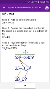 screenshot of Math Tricks version 2.30