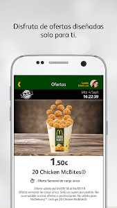 screenshot of McDonald's España - Ofertas version Varies with device
