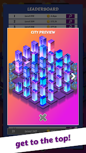 screenshot of Merge City: idle city building game version 1.19