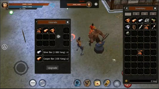 screenshot of Metin2 Mobile version 1.0
