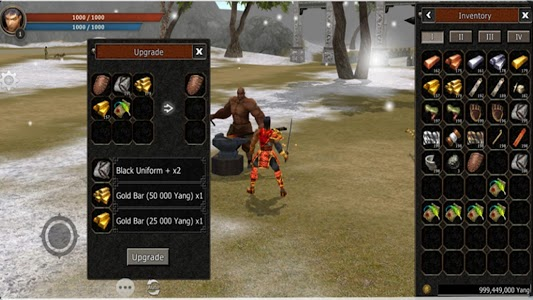 screenshot of Metin2 Mobile version 5.0