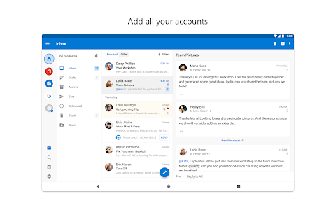 screenshot of Microsoft Outlook version 4.0.65