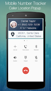 screenshot of Mobile Number Tracker version 3.7