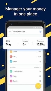 screenshot of Money Manager: Expense Tracker, Free Budgeting App version 1.2.6