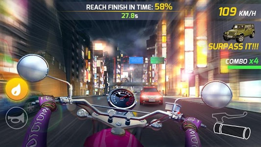 screenshot of Moto Highway Rider version 1.0.3