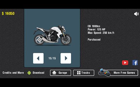 screenshot of Moto Wheelie version 0.3.7