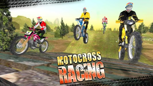 screenshot of Motocross Racing version 3.6
