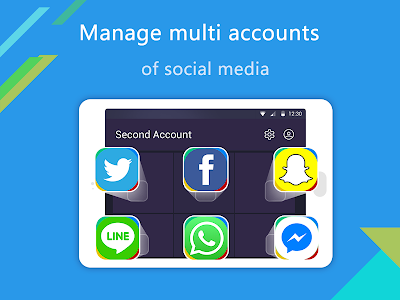 screenshot of Multi Accounts - Security Lock version 1.0.2