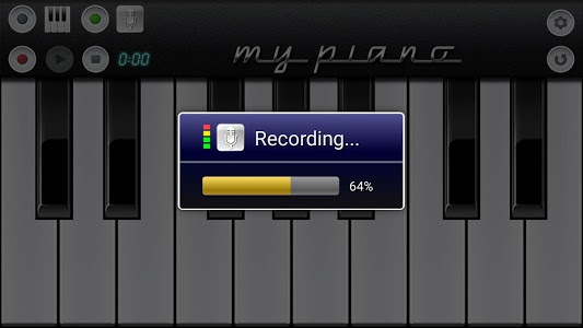 screenshot of My Piano version 3.7
