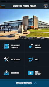 screenshot of My Police Department (MyPD) version 3.3