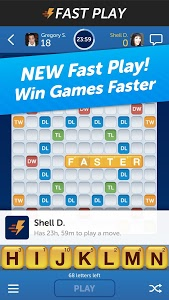 screenshot of Words With Friends version 3.010
