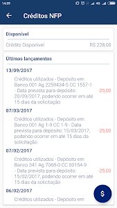 screenshot of Nota Fiscal Paulista version 2.2.3