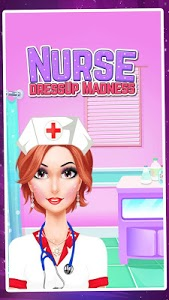 screenshot of Nurse DressUp Madness version 1.0