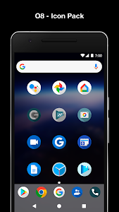 screenshot of O8 - Android Oreo 8.0 Icon Pack version 1.2.9