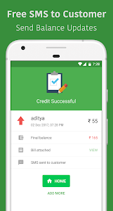 screenshot of OkCredit - Digital Udhar Khata for Business version 1.15.2